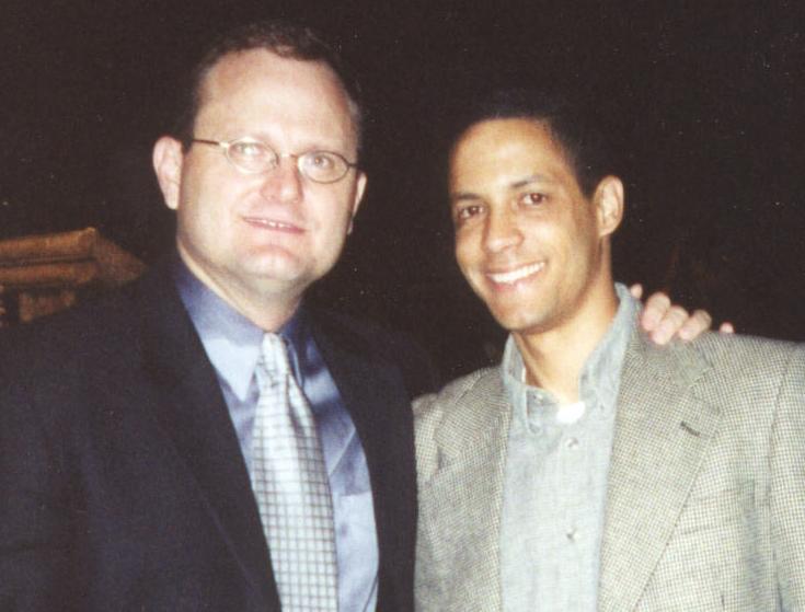 El Pastor Ureña y Marcos witt. 2001