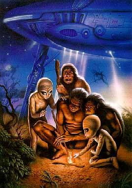 ¿Los extraterrestres nos mostraron cómo hacer fuego?